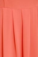Collar Make you Holla Sequin Coral Dress