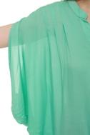 Summer Lodge Mint Short Sleeve Top