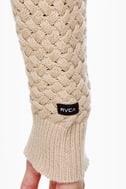 RVCA Wild Unknown Beige Sweater