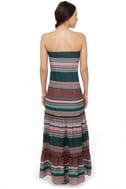 Roxy Born Dreamer Strapless Print Maxi Dress