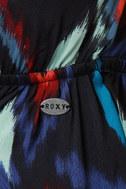 Roxy Love Seeker Ikat Print Dress