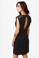 Make Bead-lieve Beaded Black Dress