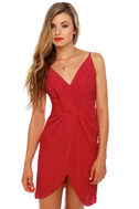 Midnight Soiree Red Dress