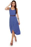 Walkabout Periwinkle Blue Midi Dress