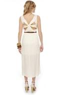 Walkabout Ivory Midi Dress