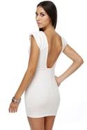 Space Odyssey Ivory Dress