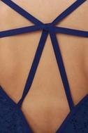 Read My Tulips Blue Lace Dress