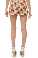 Fiddle Dee Dee Floral Print Shorts