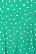 Chick-let?s Dance Mint Green Mini Skirt
