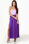 LULUS Exclusive Who\\\\\\\\\\\\\\\\\\\\\\\\\\\\\\\\\\\\\\\\\\\\\\\\\\\\\\\\\\\\\\\'s Who Lavender and Purple Maxi Dress