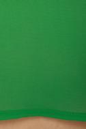 Rockin\\\\\\\' the Clock In Green Top