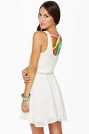 Lucy Love Monique Ivory Dress