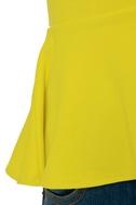 School Spirit Bright Yellow Top