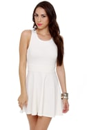 Call Me Baby Ivory Dress