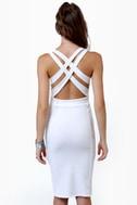 Wear-withal Ivory Dress