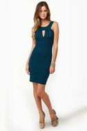 True Calling Deep Blue Dress