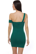 French Cafe Teal Dress