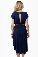 To Beach Her Own Navy Blue Dress