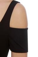 Mystery Woman Black Dress