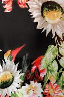 Living Arrangement Floral Print Top