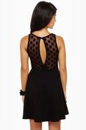 LULUS Exclusive Party Don't Stop Black Dress