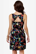 BB Dakota by Jack Aline Print Dress