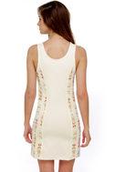 Somedays Lovin' Highway Man Ivory Print Dress