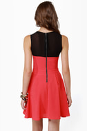 All Grown Up Black and Red Dress