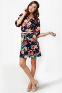 Primrose and Proper Floral Print Dress