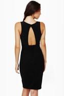LULUS Exclusive Last Kiss Black Dress