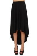 Blaque Label High Swoon Strapless Black Dress