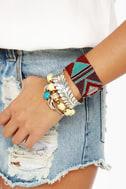 Arm Party Planner Beaded Stretch Bracelet