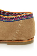 2568 Desierto Tan Suede Lace-Up Moccasin Booties