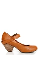 C Label Chuck 2 Chestnut Brown Mary Jane Goes West Heels
