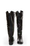 Fahrenheit Rooney 3 Black Knee High Riding Boots