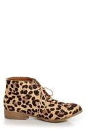 Madden Girl Dontee Leopard Print Lace-Up Desert Boots