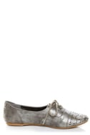 Not Rated Hot Stepper Pewter Studded Cap-Toe Oxfords