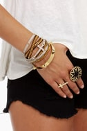 Spike-r of the House Gold Spike Bracelet
