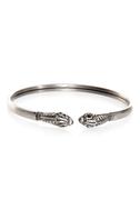 Beast Buddies Silver Clutch Bracelet
