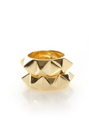 Pair Up Gold Spike Stacking Rings