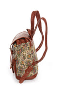 Pack to the Future Tapestry Floral Backpack