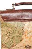 Happily Ever Atlas Map Print Satchel