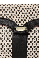 O'Neill Sandalwood Crochet Black Clutch