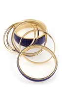 Observatory Blue Bangle Set