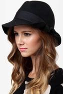 San Diego Hat Co. Idlewild Black Fedora