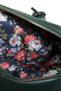 On Lock Dark Green Handbag