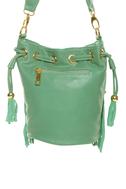 Fringe-enuity Mint Green Handbag