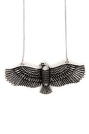 Zad Fly Like an Eagle Silver Necklace
