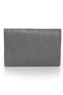 Pastry Case Pink and Grey Clutch
