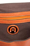 Clutch-y Subject Orange Clutch